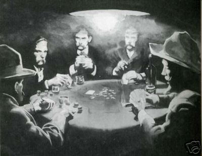 Western Poker Game