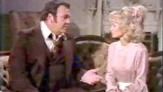 Flint (Hoyt Axton) and his lost love (Barbara Mandrell)