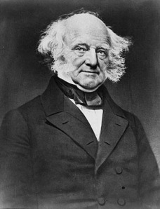 Martin Van Buren: Static electricity in action.