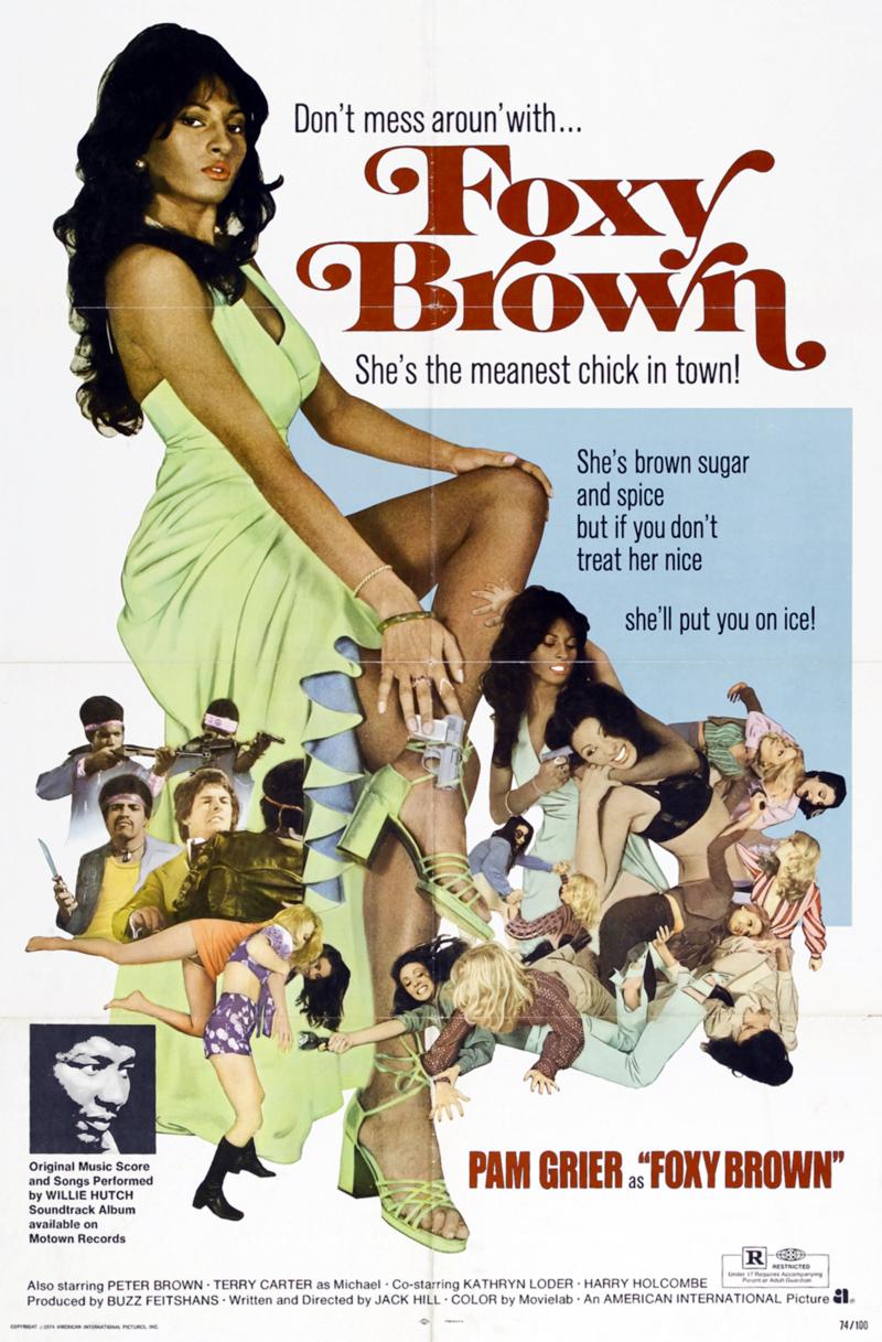 Unforgiven Poster PAM GRIER'S FOUR BES...