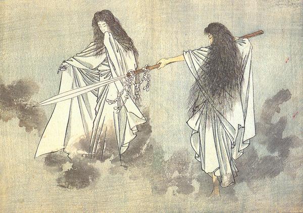 SHINTO GODS: IZANAGI AND IZANAMI | Balladeer's Blog