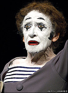 The man all mimes aspire to be ... damn them.