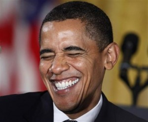 """""""First George W Bush and now ME! You people will reelect ANYBODY!"""""""