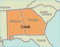 Original Creek Territory