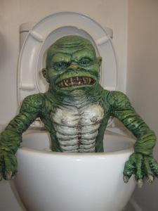 Ghoulies toilet