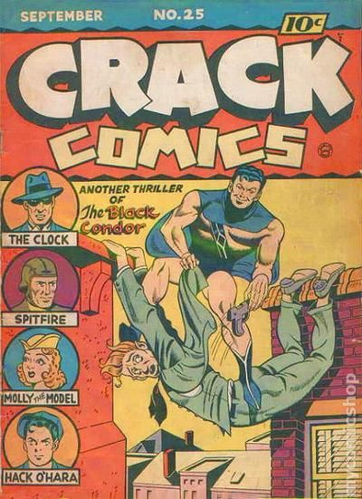 BLACK CONDOR: Screw crime-fighting! With my innovative chiropractic techniques I can make a FORTUNE!