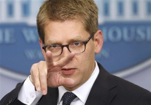 After lying his way through more questions about Obama's Benghazi, IRS and wiretapping scandals, White House Press Secretary Jay Carney gave an honest answer when asked how many orgasms he's had in his lifetime.