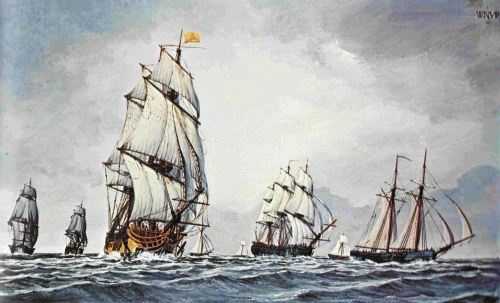 American navy -revolutionary war