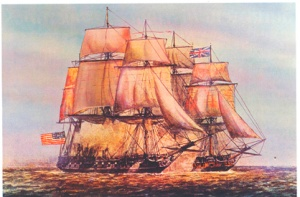 Revolutionary War naval battles