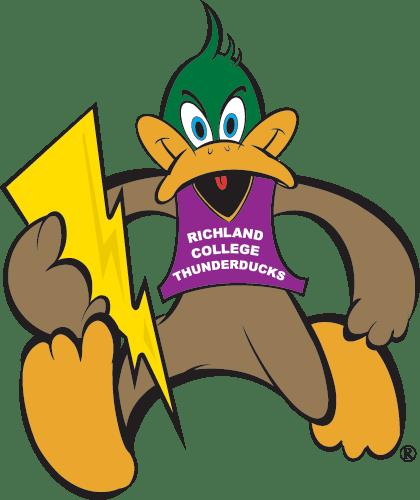 Richland College Thunder ducks