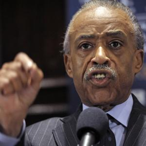 Professional hatemonger Al Sharpton demonstrates his orgasm face for all to see.