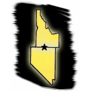 Idaho (top) and Nevada