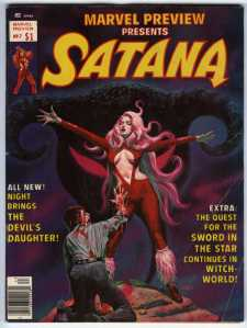Satana the Devil's Daughter