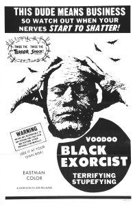 Voodoo Black Exorcist poster