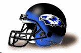 Becker Hawks helmet