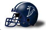 Cerritos Falcons helmet