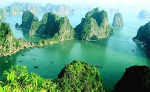 Halong Bay, home of the Ba Co, or Sirens of Vietnam