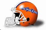 Platteville Pioneers helmet