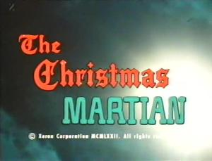 Christmas Martian