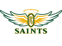 presentation college saints logo smaller