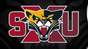 Saint xavier university cougars new logo