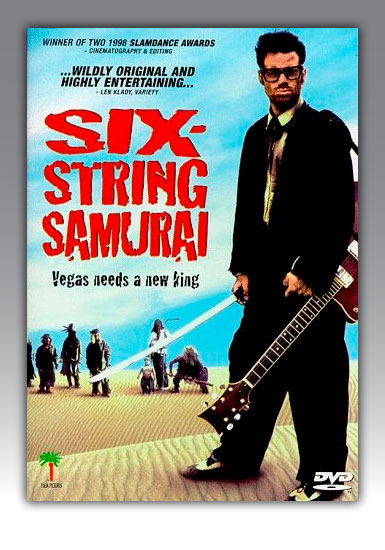 Buy it for the post-apocalyptic rock and roll samurai in your life.