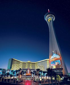 The Stratosphere: Site of the Matriarch's final battle with the army of Elvises.