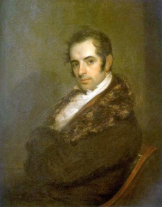 Washington Irving giving us his sexiest come-hither stare.