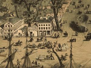 Sacramento in 1849