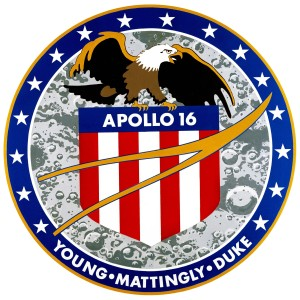 Apollo 16 patch