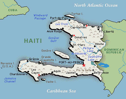 THE TOP ELEVEN DEITIES IN VOODOO MYTHOLOGY Balladeers Blog - Map of haiti in relation to us