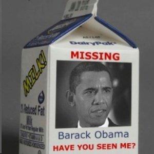 Obama Missing