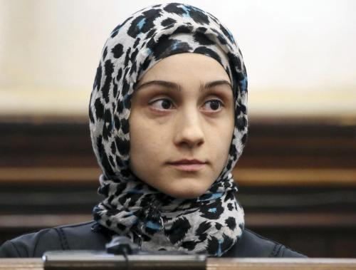 SISTERS ARE DOING IT FOR THEMSELVES: TSARNAEV SISTER IN BOMB THREAT INCIDENT