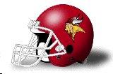 Valley City State Vikings helmet