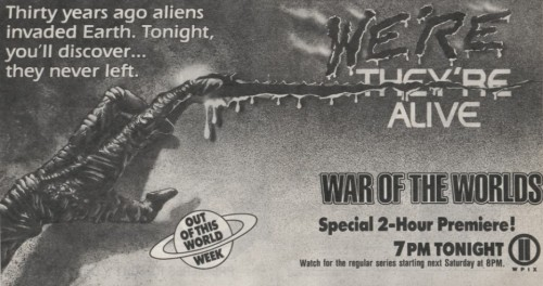 War of the Worlds tv guide