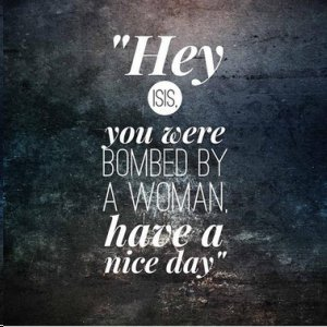 Bombed By a Woman
