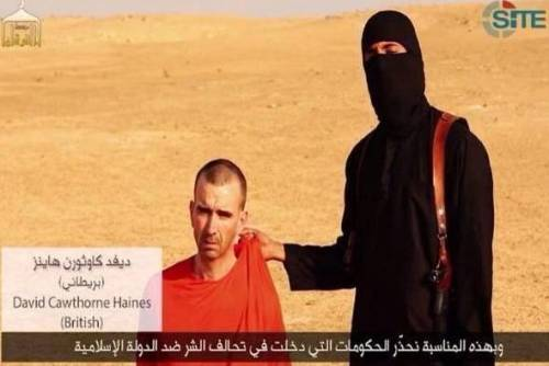 MUSLIM FANATICS RELEASE ANOTHER BEHEADING VIDEO AS LIBERALS RENEW THEIR VOW TO PREVENT THE WESTERN DEMOCRACIES FROM EVER WINNING A WAR AGAINST SUCH FANATICS.