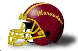 Central State marauders helmet