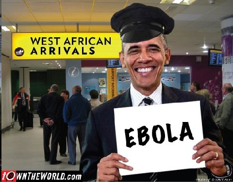 Obama greeting ebola