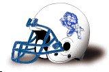 Trinity Bible College Lions helmet