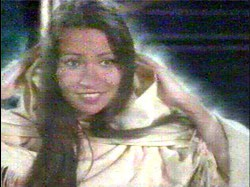 Beautiful Michelle Thrush as the Ghost of Christmas Past, or GOCPILF.