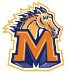 Monroe Mustangs logo