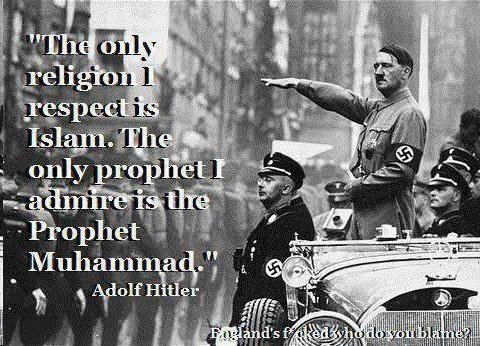 Islam: Recommended by hatemongers of all eras!