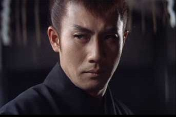 Raizo Ichikawa as the Son of the Black Mass