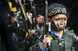 ISLAM: Where you're never too young to be taught to hate and kill in the never-ending war against the civilized world.