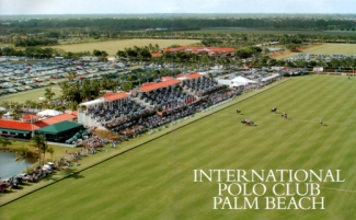 International Polo Club overhead