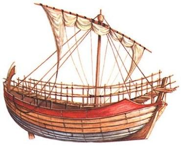 Ancient Greek Merchant Ship
