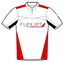 FlexJet polo shirt