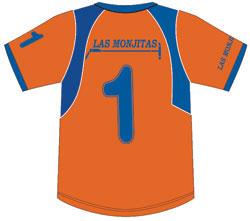 Las Monjitas polo shirt