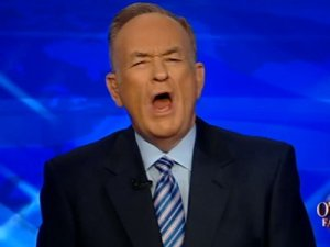 Bill O'Reilly, as usual on the wrong side of an issue.